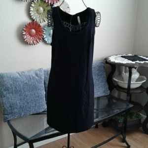 Kensie Sleeveless Business Casual Black Dress